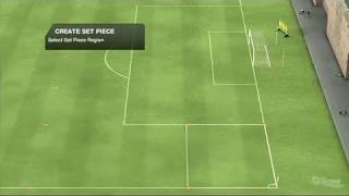 FIFA Soccer 10 Xbox 360 Video - Create Set Pieces