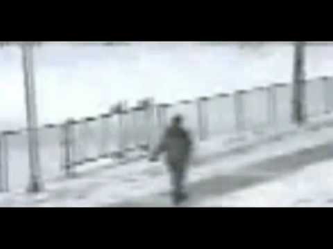 People Falling On Icy Sidewalk
