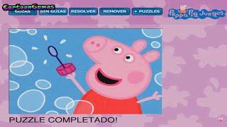 Puzzle: Peppa Pig Bubbles