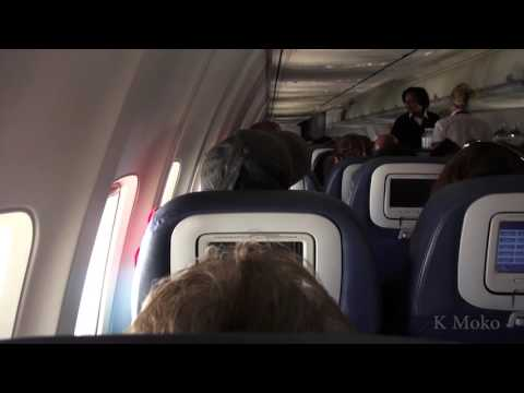 full video from flight over Oklahoma turbulence