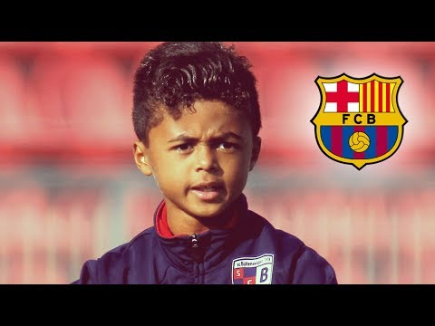 Shane Kluivert • Superstar • Goals & Skills • FC Barcelona youth