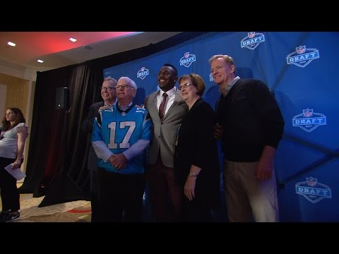 Thomas Davis speaks at 2017 NFL Draft Fan Forum