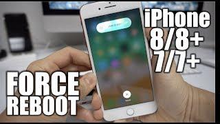 How to Force Reboot/Restart iPhone 8/8+/7/7+ - Frozen Screen Fix