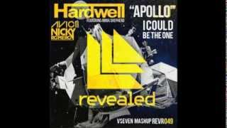 Nicky Romero ft. Avicii vs. Hardwell - I Could Be The Apollo (VSeven Mashup)