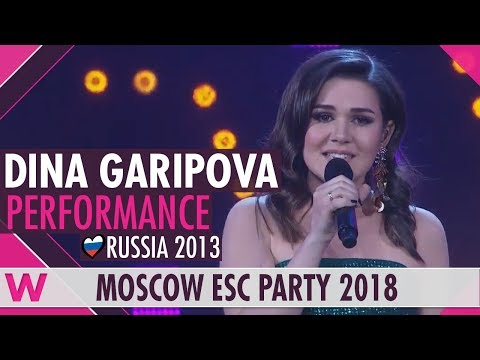 """Dina Garipova """"What If"""" (Russia 2013) live @ Moscow Eurovision Party 2018"""