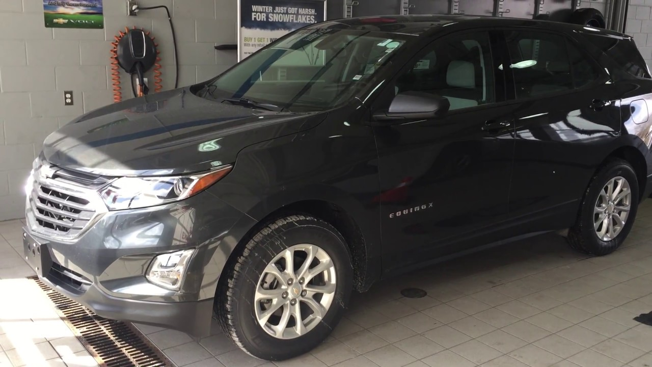2018 Chevrolet Equinox Ls Nightfall Grey Metallic Roy Nichols Motors Courtice On