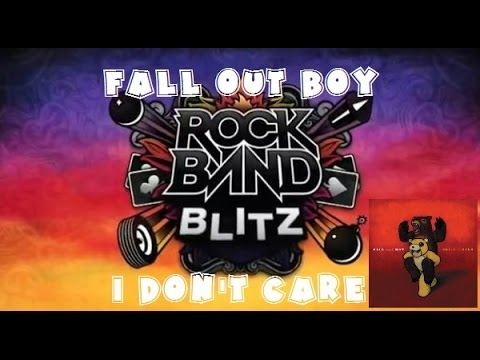 Fall Out Boy - I Don't Care - Rock Band Blitz...