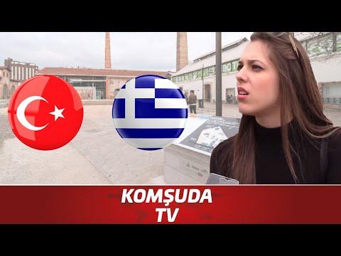 Yunanlara Sordum: Türkler Hakkında Ne Düşünüyorsunuz? | Komşuda Tv