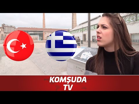 Interview: What Greeks think about Turkish people - Komşuda Tv