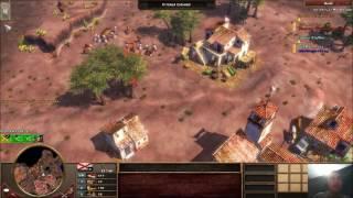 Repeat youtube video 2v2 Noob Only España en Desierto Pintado Age of Empires 3 The Asian Dynasties multiplayer online