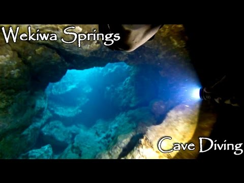 Wekiwa (Wekiva) Springs Florida | CAVE DIVING