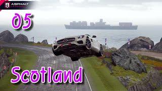 아스팔트9 05 스코틀랜드 풍력 발전기 AMG GT S…