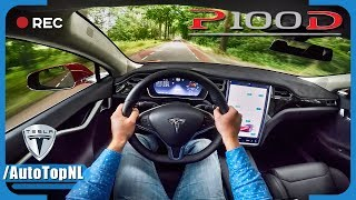 Tesla Model S P100D LUDICROUS POV Test Drive by AutoTopNL