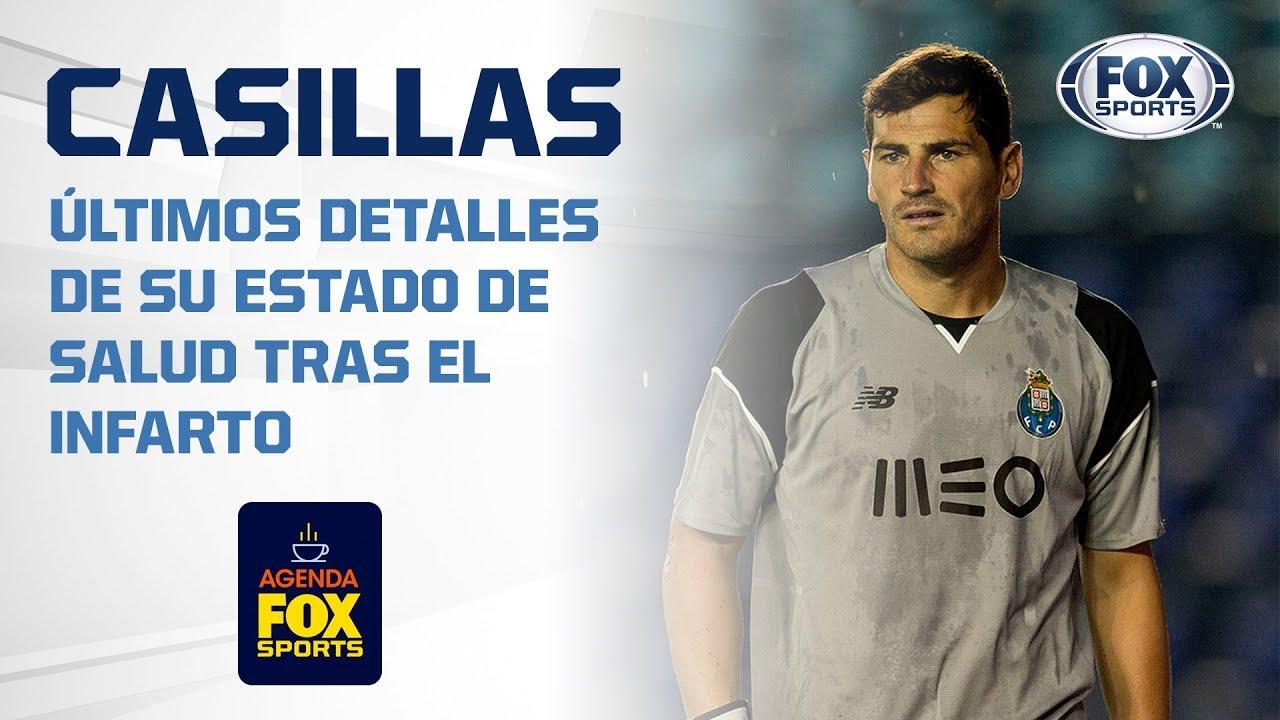 La foto de Iker Casillas tras su infarto