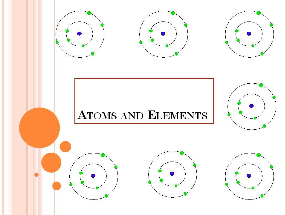 Atoms and Elements - YouTube