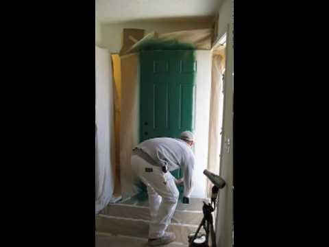 how to stop cat spraying my front door