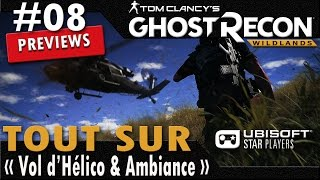 Ghost Recon Wildlands Gamplay Fr PC PS4 XBox One - Ambiance et vol d
