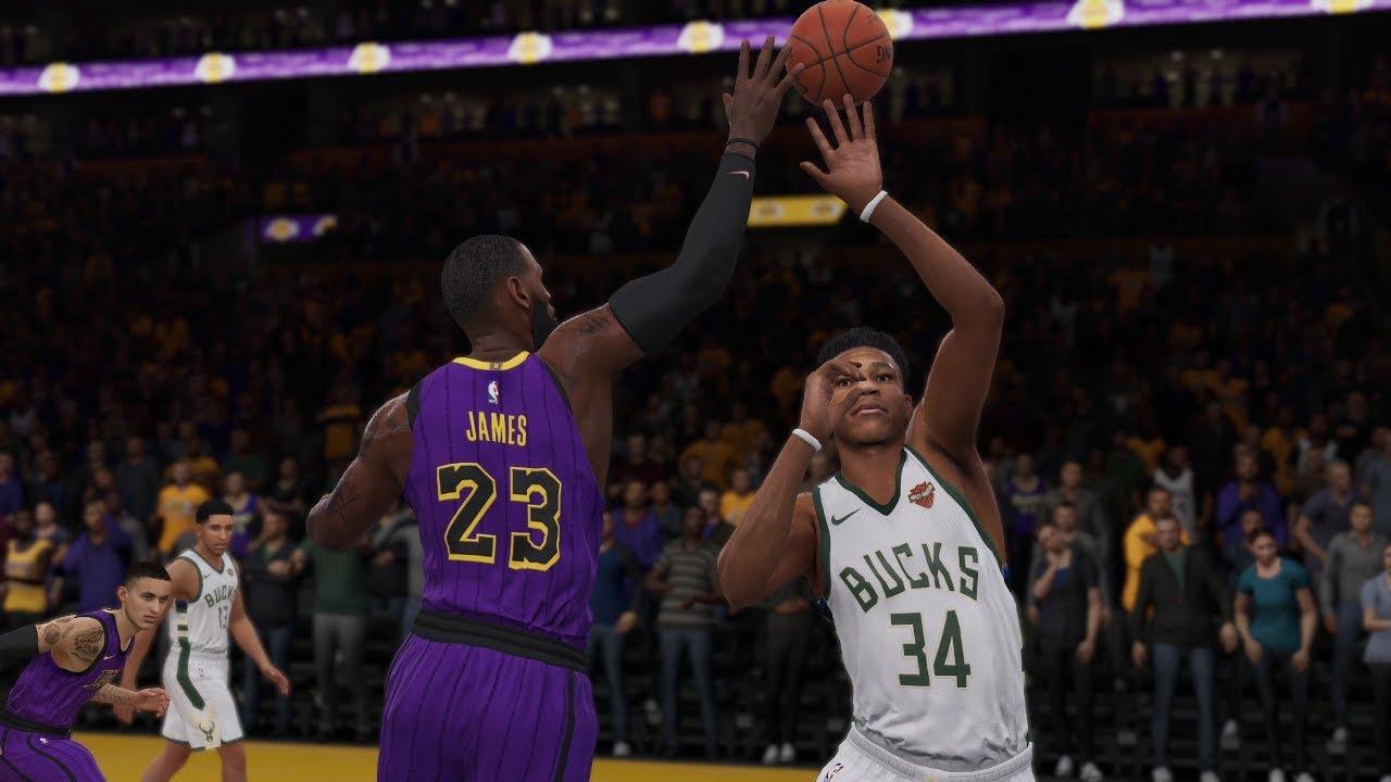 Los Angeles Lakers vs Milwaukee Bucks | NBA LIVE Full Game ...