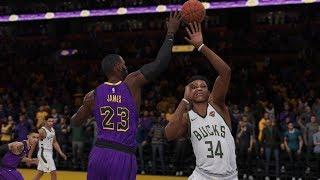 Los Angeles Lakers vs Milwaukee Bucks   NBA LIVE Full Game Highlights 2019