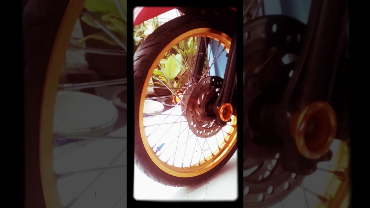 Modifikasi Motor Matic Honda Injection Vario 125 Ring 17