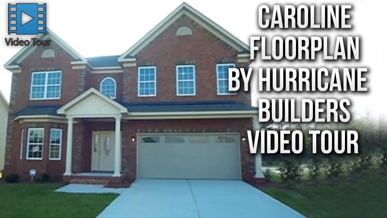 Caroline Floorplan By Hurricane Builders In Columbia Sc Youtube