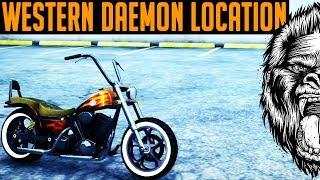 GTA 5 Western Daemon Location & GTA 5 Insurance Glitch ( GTA V RARE MOTORCYCLE)