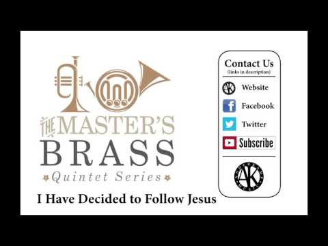 I Have Decided to Follow Jesus - Brass Quintet - sheet music available