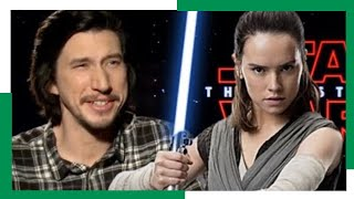 Adam Driver on Kylos Relationship with Rey and What's Next!