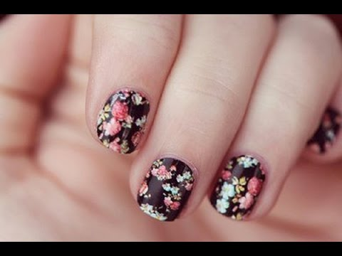 Easy Nail Art For Teenagers Youtube