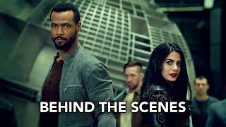 "Shadowhunters 3x10 Behind the Scenes ""Erchomai"" (HD) Izzy & Luke Demon Fight"