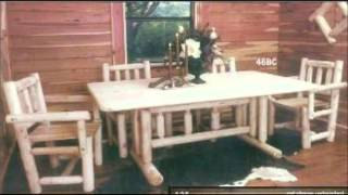 Rustic Woodcrafts Cedar Furniture