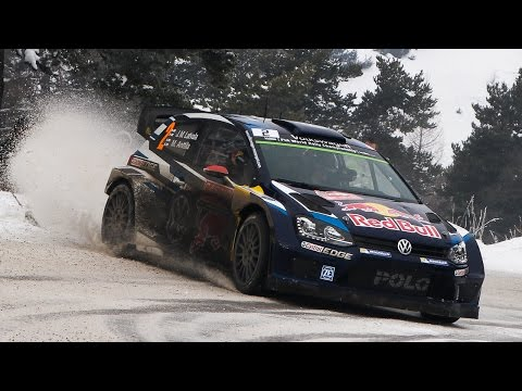 WRC Rallye Monte Carlo 2015 - Highlights [HD]