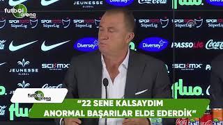 """Fatih Terim'den Arsene Wenger örneği: """"22 sene kalsaydım anormal başarılar elde ederdik"""""""
