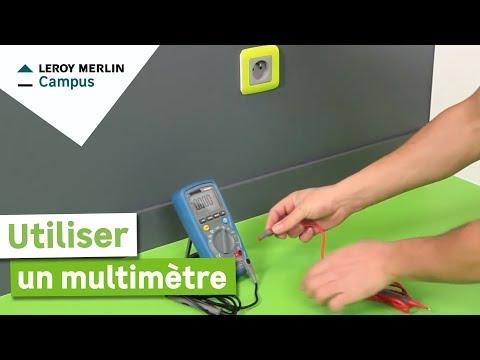 Comment Utiliser Un Multimètre Leroy Merlin Youtube