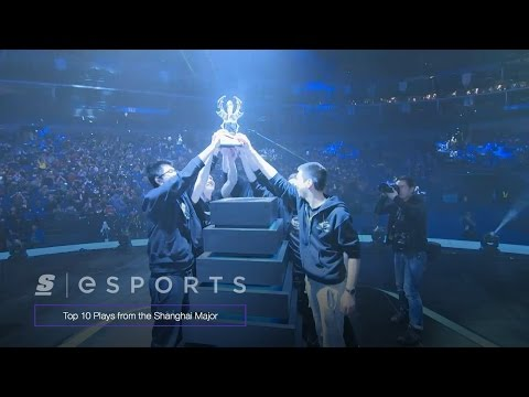 Top 10 Plays from the Dota 2 Shanghai Major