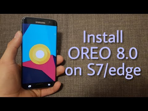 Install Android OREO 8.0 - LineageOS 15.1 on the Galaxy S7/edge