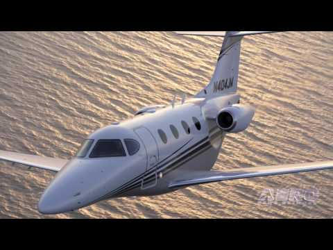 Aero-TV:  The Beechcraft Premier II - Next Step in the Light Jet Revolution