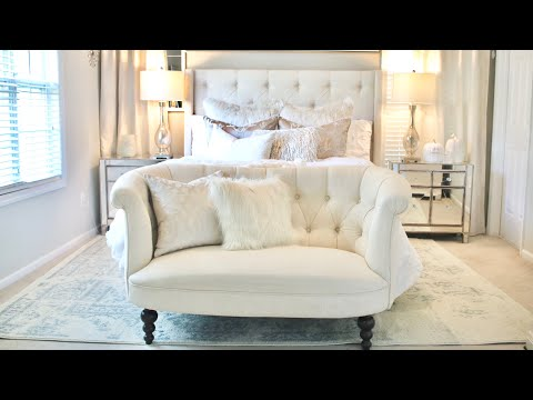 DECORATE WITH ME|HOW TO MAKE A LUXURY BED|MASTER BEDROOM DECORATING