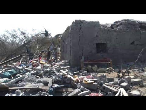 Dozens killed in air raid on Yemen wedding