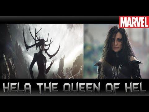 ประวัติ Hela ราชินีแห่งนรกในThor Ragnarok[Hela The Queen of Hel]comic world daily