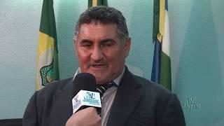 Seu João fala sobre iluminação pública, CE 377, reivindicação dos servidores e festa do município
