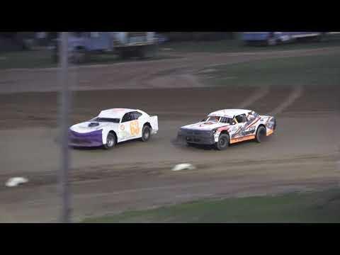 Street Stock Heat Race #1 at Crystal Motor Speedway, Michigan on 09-01-2019!