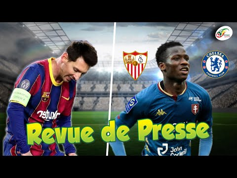 La prolongation de Messi secoue le Barça. Pape Matar Sarr a tranché pour son avenir  RevuedePresse