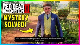 FINDING GAVIN Mystery Solved In Red Dead Redemption 2 - Secret Clues Reveal What Happened To Him!
