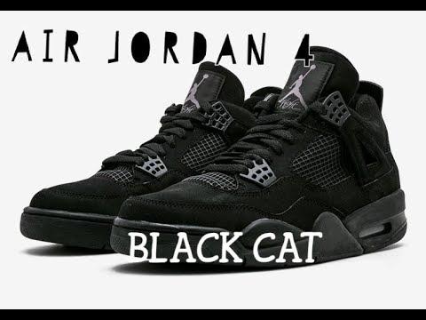 AIR JORDAN 4 BLACK CAT 2020, JORDAN 1 SP GINA FULL RELEASE
