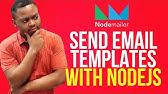 Node Js Tutorial-Sending Email Using Nodemailer - YouTube