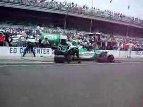 2007 Indianapolis 500 Ed Carpenter Pit Stop
