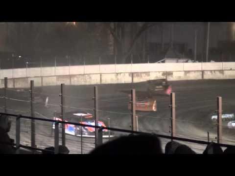 Deery Brothers Late Model B-Main 1 West Liberty Raceway 4/9/16