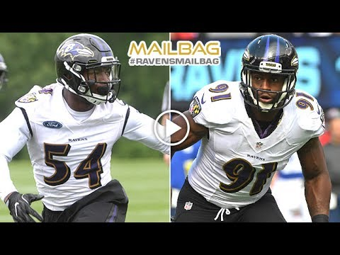 Who Will Start Opposite of Terrell Suggs? | #RavensMailbag | Baltimore Ravens