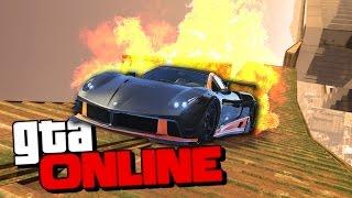 GTA 5 Online (Гонки) - Экстримальный заезд! #92